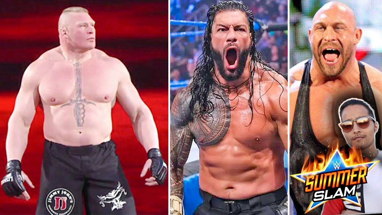 UNEXPECTED Brock Lesnar Return Update..Ryback SummerSlam!? Roman Reigns Target, Vince Comment on AEW