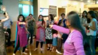 Ajanta Teaching Bollywood Dance at Whole Foods Schaumburg