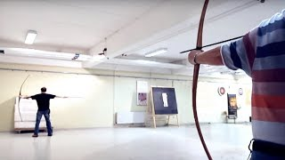 Lars Andersen: a new level of archery(The ultimate archery trick. Proving that Hollywood archery is not historical. Article about me in OutdoorHub ..., 2015-01-23T11:56:09.000Z)