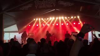 The spirit - Sounds From The Vortex/Cosmic Fear (Partysan Metal Open Air 2018)HD