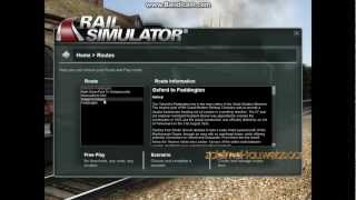 Rail Simulator 2007 Gameplay [HD]