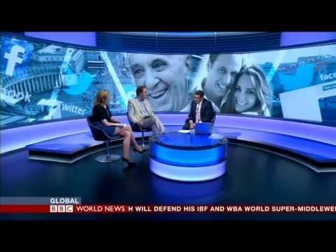 Elizabeth Linder Facebook- BBC World News on Royalty on Social Media