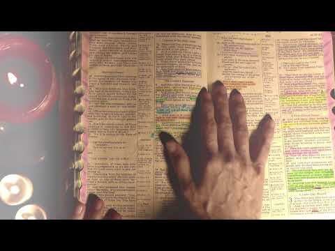ASMR Bible Reading: Acts CH. 1-4