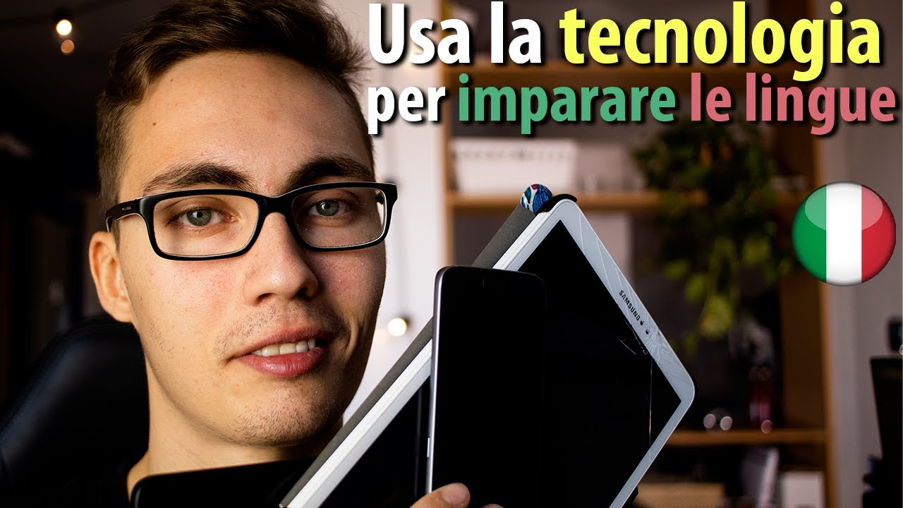 9 unconventional ways of learning a languange with technology [Learn Italian, with subs]