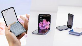 Mở hộp Samsung Galaxy Z Flip: 36 Triệu đóng hộp có khác?