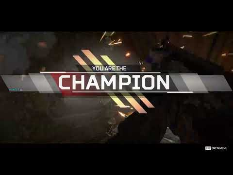 Apex Legends - Victory without comms (Terrible Video Quality)