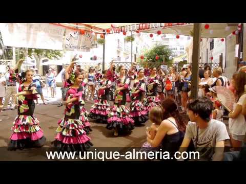 Spanish Fiesta - Feria Almeria in August - Wine, Flamenco and Fun!
