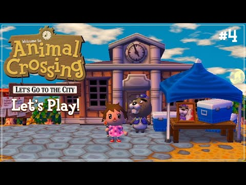 Animal Crossing Let's Go To The City #4 | The Worst Fishing Tourney! 🎣