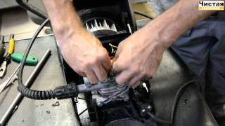 Ремонт и обслуживание бытовой техники Karcher: клапан перенапряжения (старт/стоп)