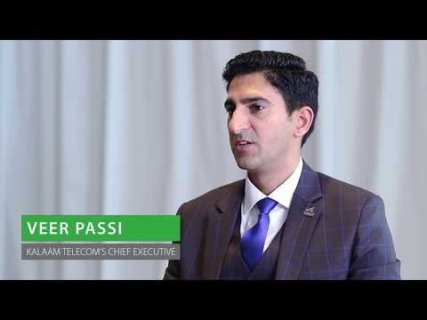Veer Passi, CEO of Kalaam Telecom talking about the regional growth