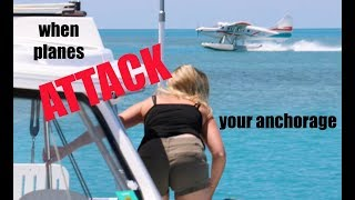 when-planes-attack-your-anchorage-lazy-gecko-sailing-vlog-88