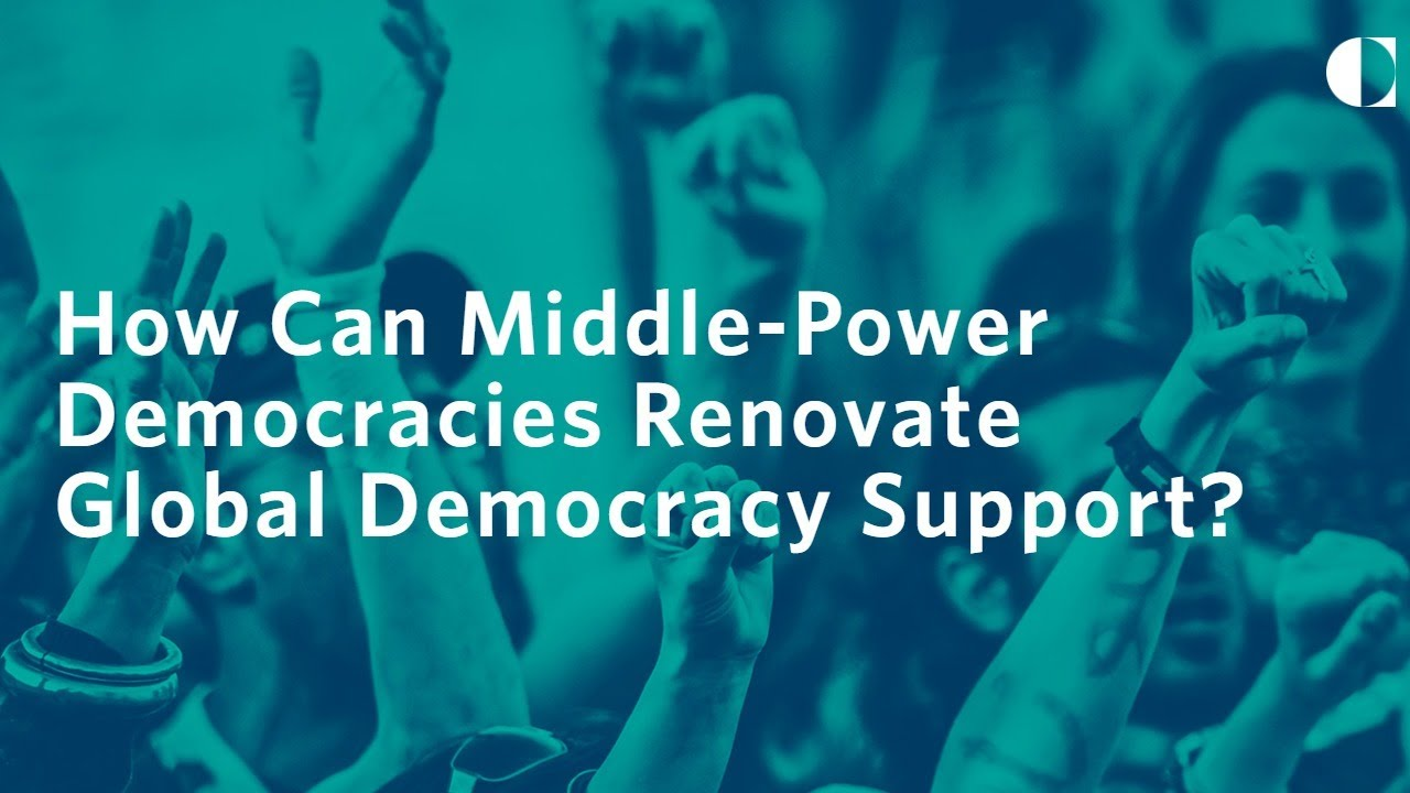 How Can Middle-Power Democracies Renovate Global Democracy Support?