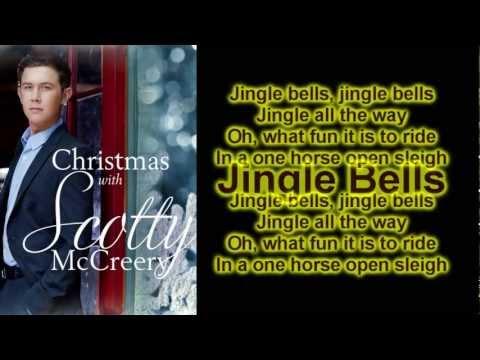 Scotty McCreery - Jingle Bells (Lyrics)