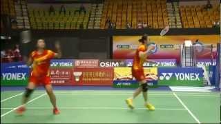 QF - WD - Tian Q./Zhao Y. vs M.Matsutomo/A.Takahashi - 2012 Yonex-Sunrise Hong Kong Open