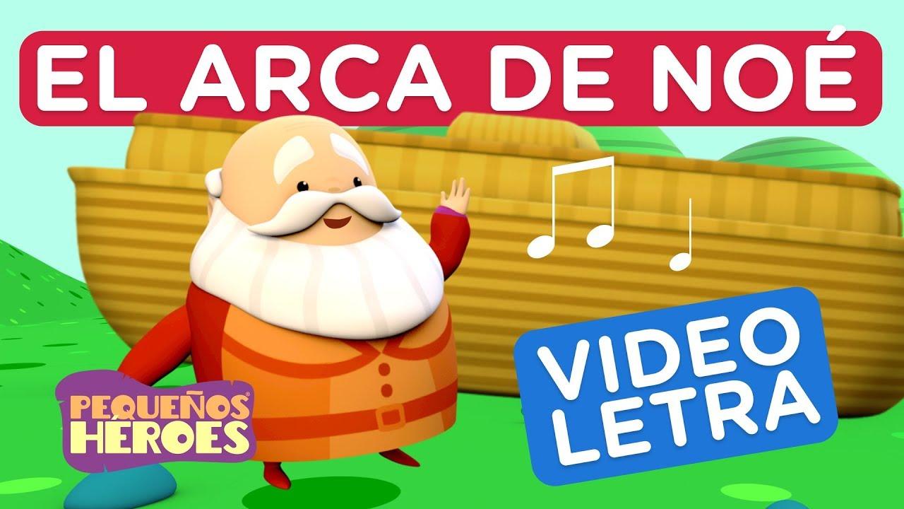 Arca de Noe - Videoletra - Pequeños Héroes - Canciones infantiles cristianas - Generación 12 Kids