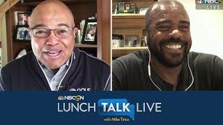 Ahmad Rashad talks covering Michael Jordan, 1990s Chicago Bulls (FULL INTERVIEW) | NBC Sports