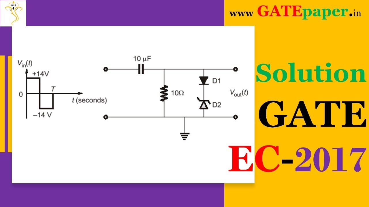 Gate 2017 Find The Maximum And Minimum Values Of Output Waveform In A Zener Diode Circuit Like Diagram Below