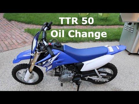 Yamaha TTR50 Dirt Bike Oil Change Tutorial