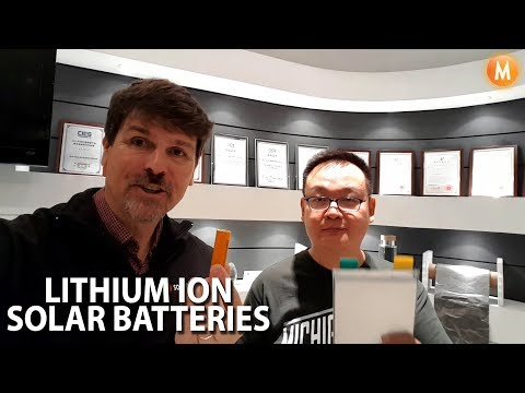 Pylontech Lithium Ion Battery Storage Visit