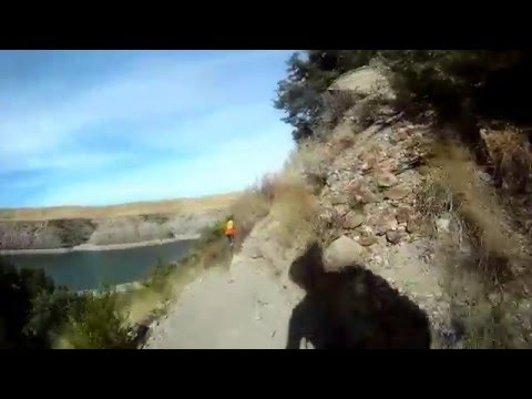 River Edge South Shore MTB Trails Great Falls, Montana