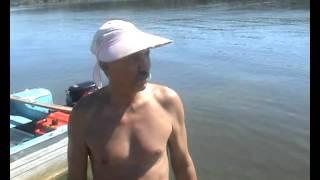 Необычная рыбалка на пенопласт(Необычная рыбалка на реке Волга., 2012-08-23T15:25:32.000Z)