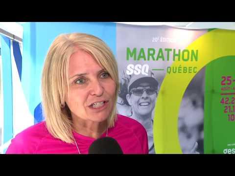 L'ESPRIT SPORTIF - TVA - Un 20e Marathon Lévis-Québec historique- 20 en 20 pour deux marathoniens-