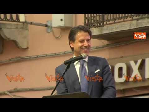 Conte parla in dialetto pugliese