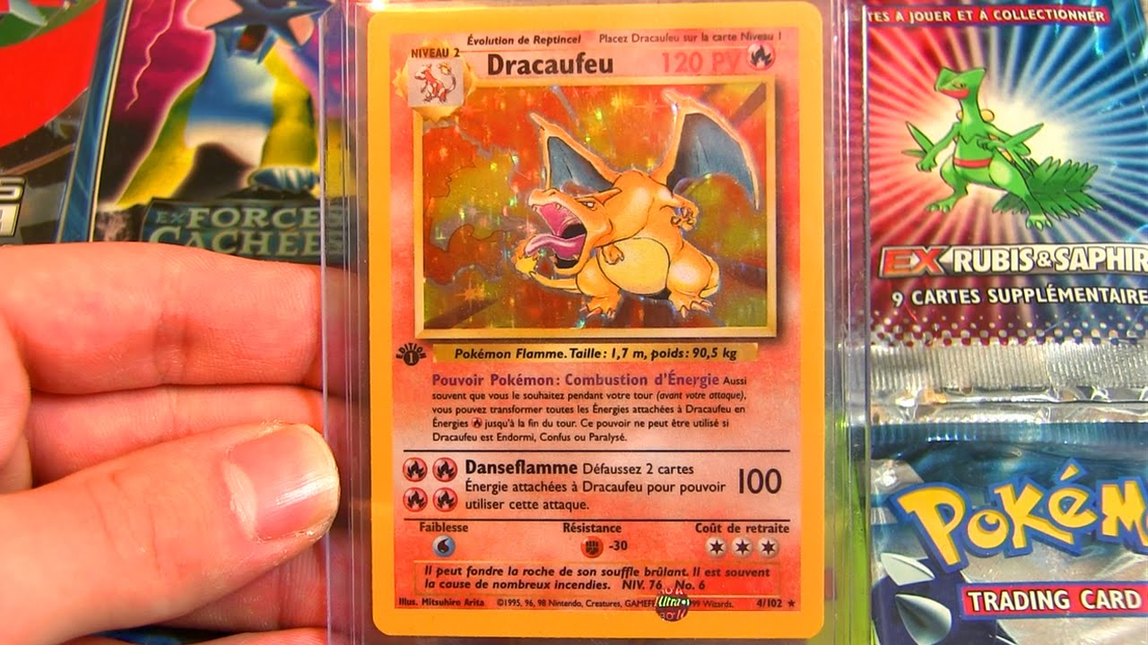 Mes 10 cartes pokemon les plus cheres youtube - Tout les carte pokemon ex du monde ...
