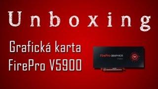 UNBOXING Grafická karta HP ATI FirePro V5700 [CZ/1080p]