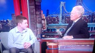 Letterman Show 4/9/2014 - Jamie Edwards Part (re-recorded)