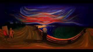 Naked Munch (Immersive Oil Painting | Virtual Reality Art)