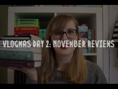 Vlogmas Day 2 November Reviews  Youtube