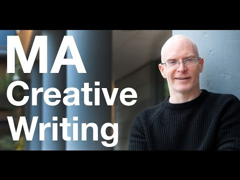 Видео Ma creative writing online uk
