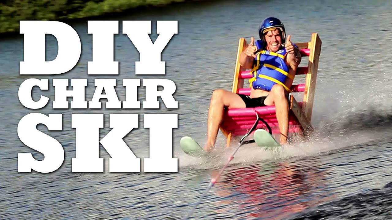 DIY EPIC Chair Ski   YouTube