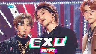 60FPS 1080P | EXO - Tempo, 엑소 - 템포 Show Music Core 20181103