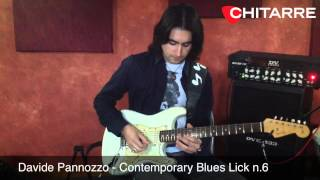 One Lick A Week: Contemporary Blues Lick 6 (Davide Pannozzo)