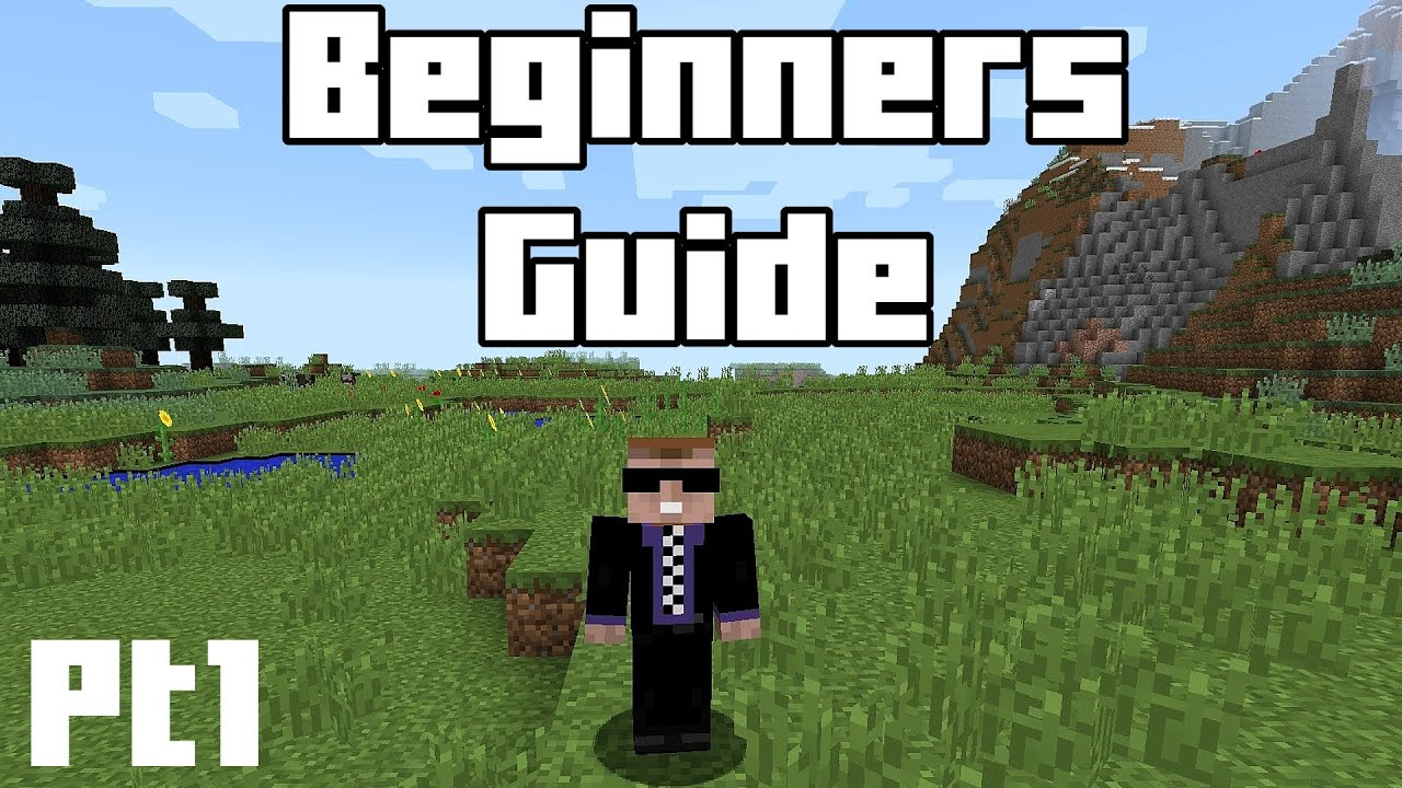 minecraft beginners guide part 1 tools weapons food and rh youtube com Minecraft Survival House Minecraft Survival Tips