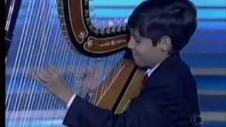Davi lucena - menino da harpa.wmv