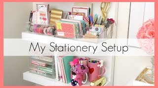 Stationery Collection/Organization (+ Target $1 Items!) | erisaxo