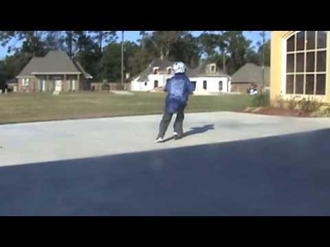 Carson's Skate Trick