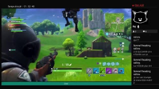 Live  [fr] ps4 Fortnite Battle royale nouv maj1.50