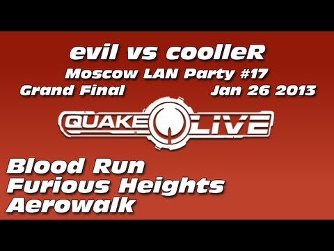 evil vs cooller - Moscow Quake LAN Party #17 [Jan 26 2013] (