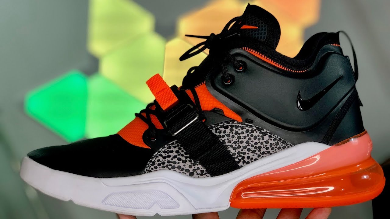 Nike Air Force 270 Safari Review (Sneaker Vlog!)