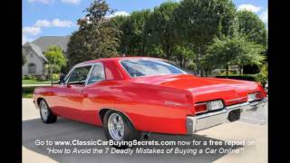 1967 Chevy Biscayne 4 Speed Classic Muscle Car for Sale in MI Vanguard Motor Sales