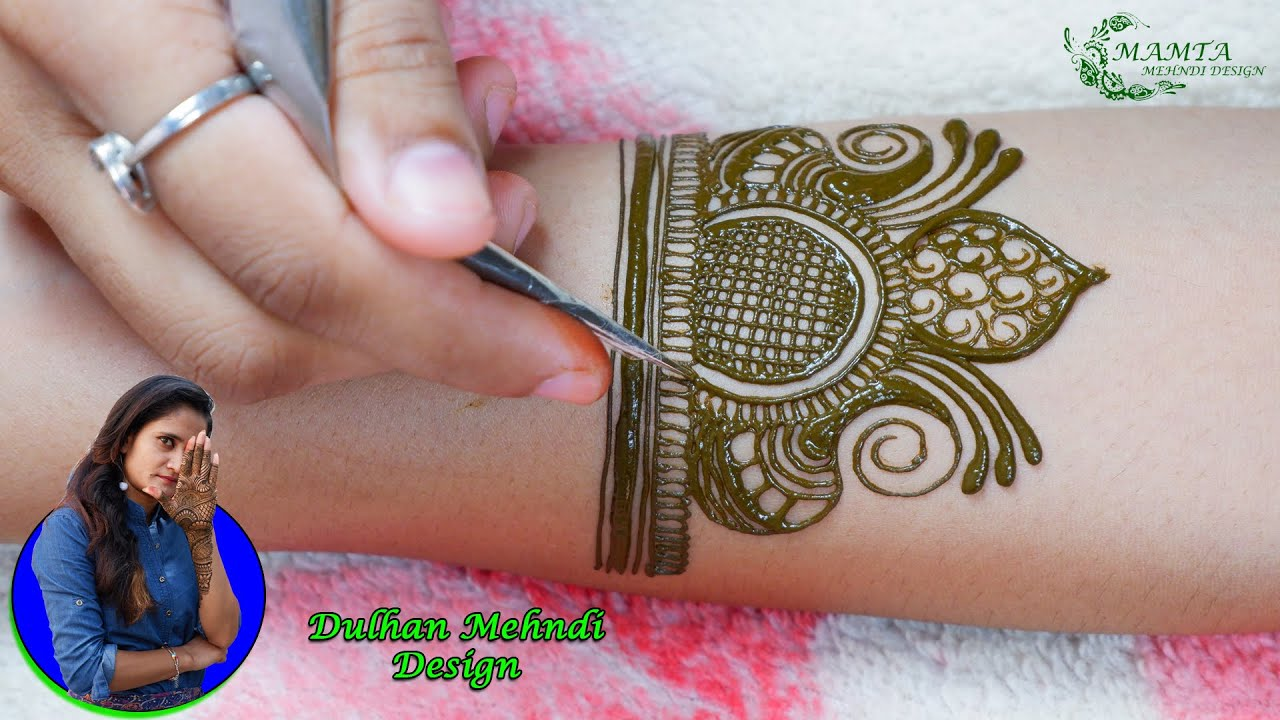Dulhan Mehndi Design 2020 | भरवां हाथों की Bridal मेहंदी Design | Full Hand दुल्हन मेहंदी Designs