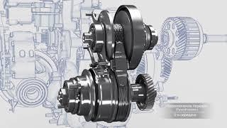 Технологии Subaru:  Трансмиссия LINEARTRONIC (вариатор)