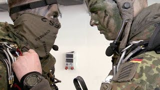 Paratroopers Experience First Parachute Jump from A400M