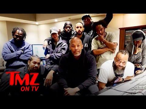 Dr. Dre Back in the Studio After Brain Aneurysm | TMZ TV