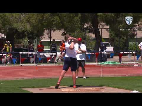 Arizona's Jordan Geist earns Pac-12 Men's Field Athlete of the Week honors