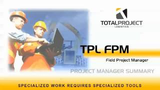 TPL FPM Project Manager Summary